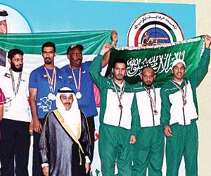ذهبيتان للسهام السعودية في الكويت