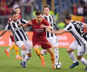 قمة روما ويوفنتوس تشعل الدوري الإيطالي