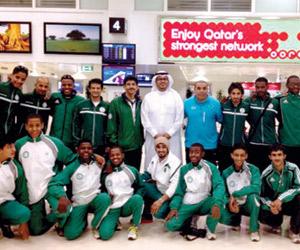 الكاراتيه السعودي يحقق بطولة قطر