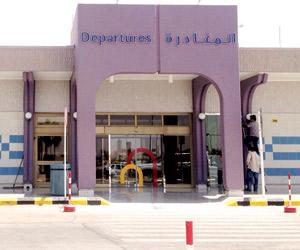 الرحلات الدولية تجبر سكان حفر الباطن على مطار الكو