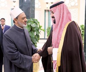 محمد بن سلمان: الأزهر قلعة الوسطية والسلام