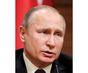 بوتين: مستعدون للتعاون  مع الجامعة العربية