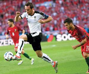 قائد النمسا يخلع قميص الدولية