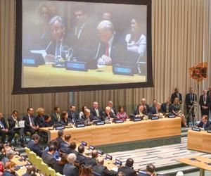 حشد فلسطيني لتأييد مطالب عباس بالأمم المتحدة