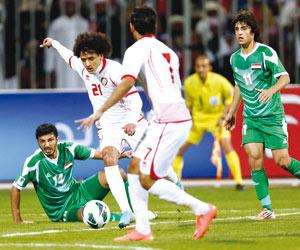 الإمارات تدخل الاختبار الآسيوي