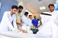 جامعة القصيم تطلق حملة بالصحة نهتم