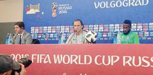 بيتزي: مباراة مصر فرصة لتحسين الصورة