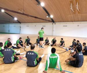 16 لاعبا يمثلون القبضة السعودية آسيويا