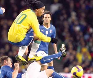 البرازيل وإيطاليا.. وديا  على أرض محايدة