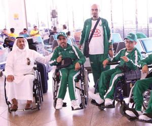 مشاركة سعودية في بطولة فزاع للبوتشيا