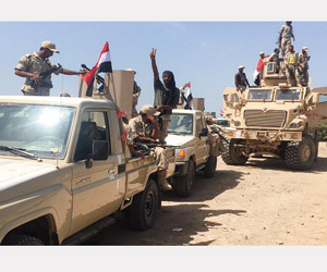 الميليشيات تهرب إلى مزارع الحديدة وتتخذ المدنيين د