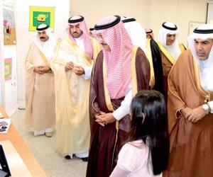 أمير الرياض يدشن مشروعات تعليمية بـ7 مليارات