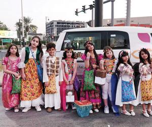 100 طفل يشاركون إفطارك علينا في توعية السائقين