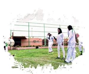هيلة الفراج أول معلقة رياضية سعودية
