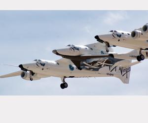 أول رحلة طيران تجارية تتجاوز الغلاف الجوي
