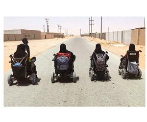 4 شقيقات يتحدين الإعاقة والأمية بالأحساء