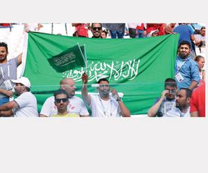 الجماهير السعودية تشكر هيئة الرياضة