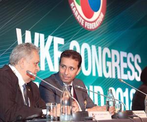 القناص يستمر عضوا في المكتب التنفيذي الدولي