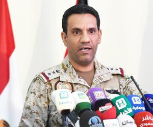 التحالف: ميليشيا الحوثي الانقلابية تستهدف مخيما لل